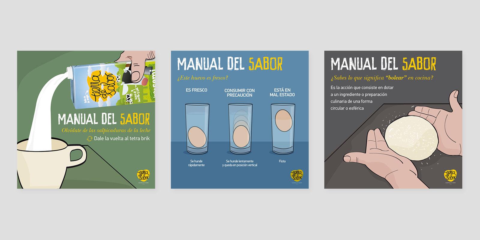 Manual del Sabor - Contenido Redes Sociales Tierra de Sabor