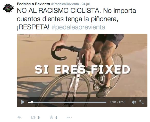 pedalea o revienta twitter